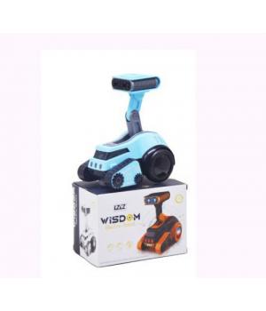 Робот музыкальный Wisdom голубой 6678-6