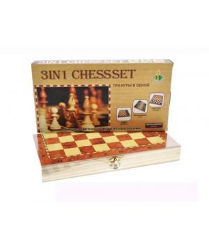 Деревянные шахматы, шашки, нарды