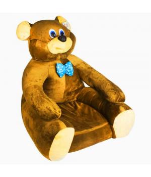 Мягкое кресло Мишка светло-коричневый 113035