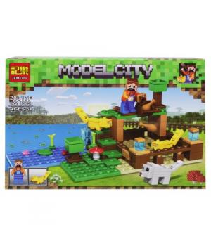 "Конструктор ""Minecraft: Ферма"", 122 детали 20017A-F"