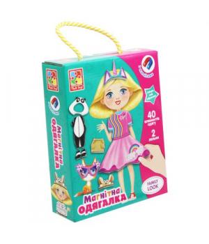 Одевашка магнитная игра, одень куклу, Family Look