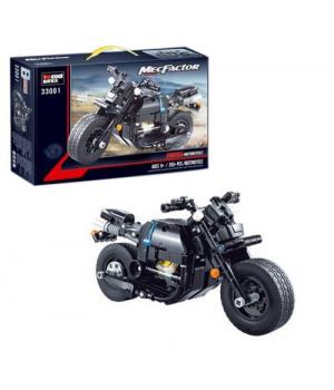 """Конструктор """"Мотоцикл"""", 265 деталей 33001"""