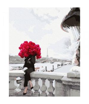 """Картина по номерам """"В цветах"""" GX39502 40х50 см"""