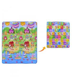 Коврик для детей игровой, двухсторонний, вид 1 EVA1663