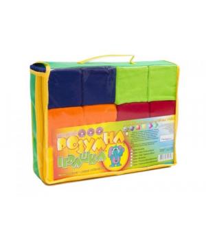 Детские мягкие кубики, 7 х 7 см (12 штук)