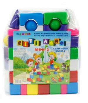 Игрушка кубик конструктор Сити Лайф, Бамсик
