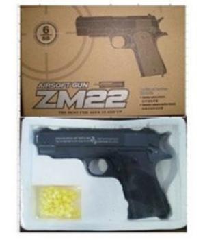 Пистолет металлический ZM22