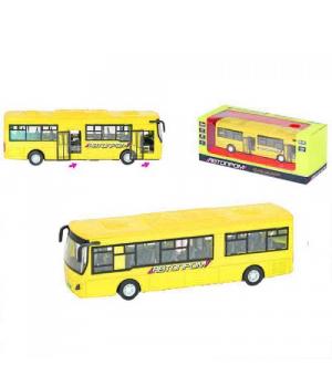 Автобус Богдан A1445 игрушка, Автопром, (желтый)