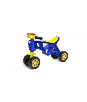 """Беговел Мотоцикл пластиковый """"Беговел-2"""" (синий) 188_С"""