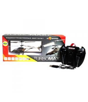 """Вертолет на радиоуправлении """"TURBOMAXX"""" (черный) 9285"""