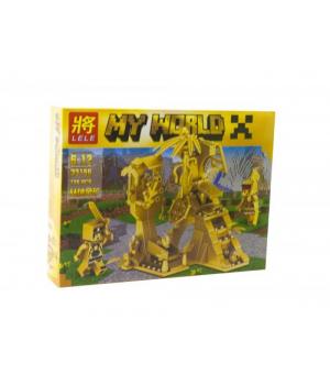 """Конструктор """"Minecraft"""" Золотая серия, 126 деталей 33156"""