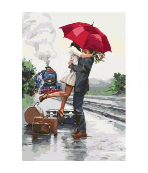 """Картина по номерам """"""""В ожидании приключений"""" ★★★ КНО2676 35х50 см"""