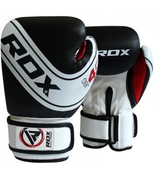 Детские боксерские перчатки, белые, от 4 до 12 лет, RDX