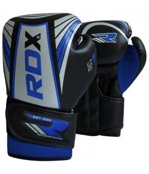 Детские боксерские перчатки, синие, от 4 до 12 лет, RDX