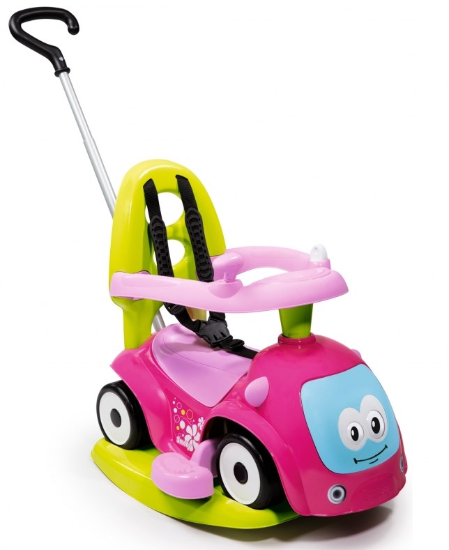 дитяча машинка толокар каталка з гойдалкою смоби купити