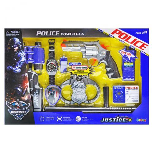 Набор полицейского для мальчика с пистолетом купить