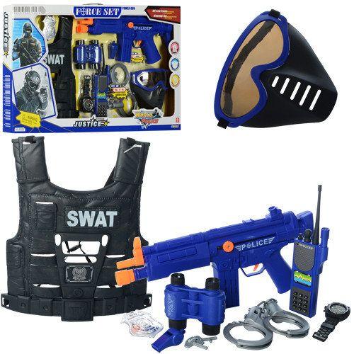 Детский полицейский набор с бронежилетом купить