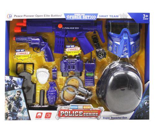 детский полицейский набор для мальчика с рацией купить